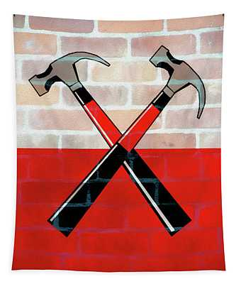 Marching Hammers The Wall Tapestry