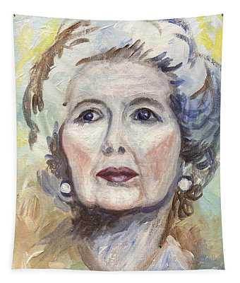 Margaret Thatcher One Tapestry