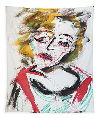 Marilyn Abstract Tapestry