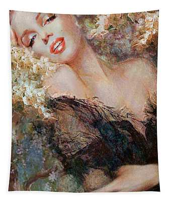 Marilyn Cherry Blossom Tapestry
