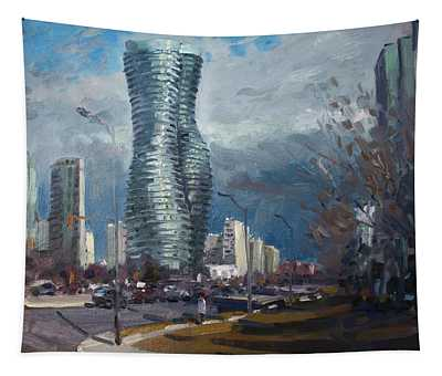 Marilyn Monroe Towers Mississauga Tapestry