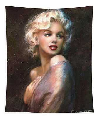 Marilyn Romantic Ww 1 Tapestry