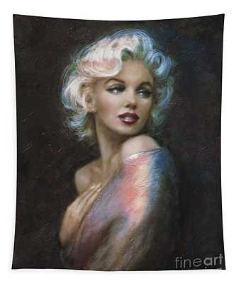 Marilyn Romantic Ww 4 Blue Tapestry