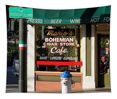 Mario's Bohemian Cigar Store Cafe Tapestry