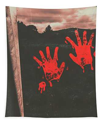 Mark Of Murder Tapestry