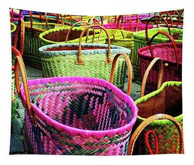 Market Baskets - Libourne Tapestry