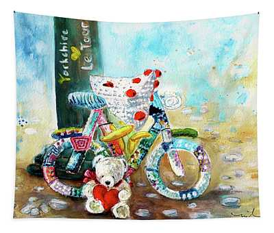 Marlon Blanco At The Tour De Yorkshire Tapestry