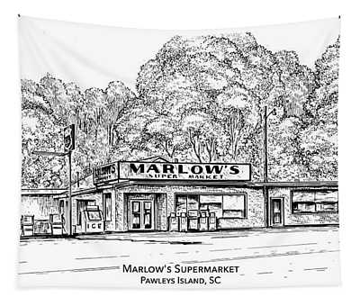 Marlows Market Tapestry