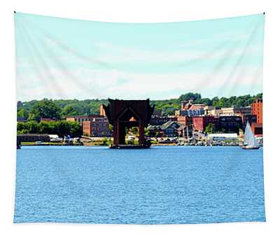 Marquette Michigan Harbor One Tapestry
