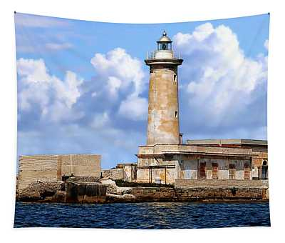 Marsala Lighthouse Tapestry