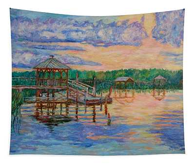 Marsh View At Pawleys Island Tapestry