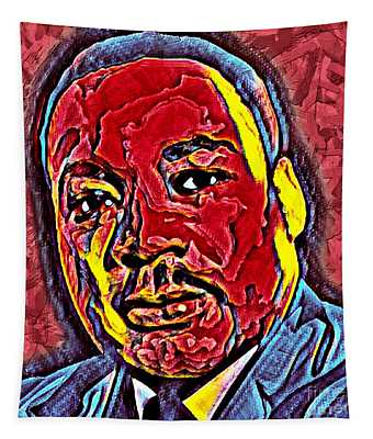 Martin Luther King Jr. Portrait Tapestry