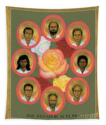 Martyrs Of The Jesuit University - Rlmju Tapestry