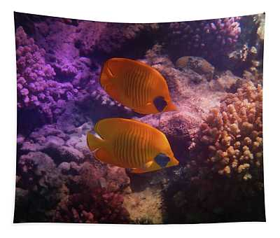 Masked Butterflyfish The Creative Way Tapestry