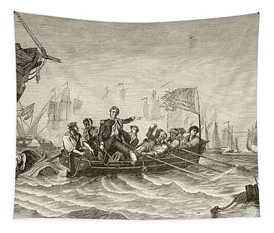 Master Commandant Oliver Hazard Perry Tapestry