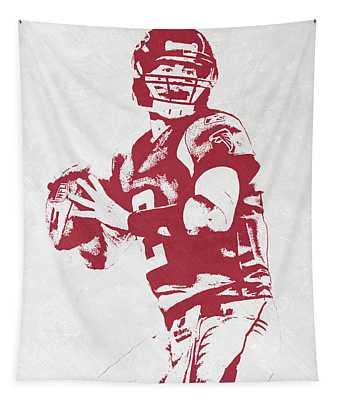 Matt Ryan Atlanta Falcons Pixel Art Tapestry