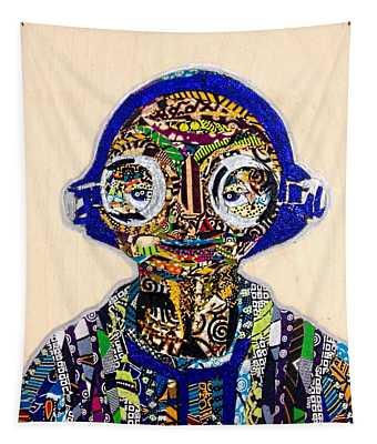 Maz Kanata Star Wars Awakens Afrofuturist Colection Tapestry