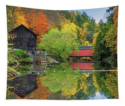 Mcconnells Mill Tapestry