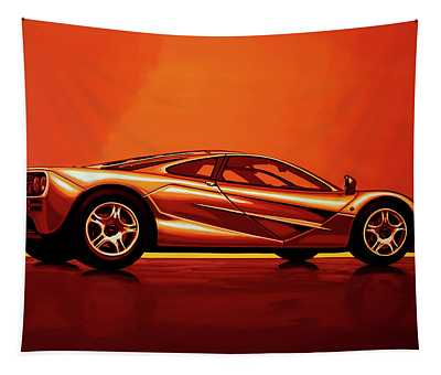 Mclaren F1 1994 Painting Tapestry