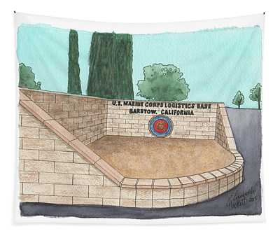 Mclb Barstow Welcome Tapestry