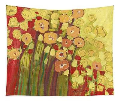 Meadow In Bloom Tapestry