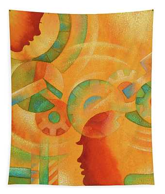 Mechanical Minds Tapestry
