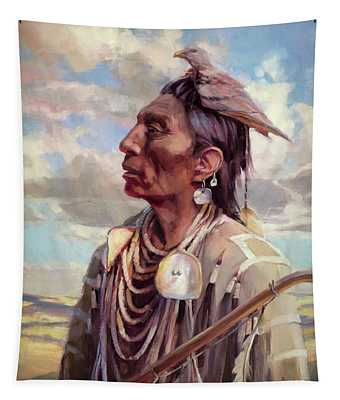 Medicine Crow Tapestry