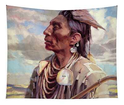 Medicine Crow Tapestry