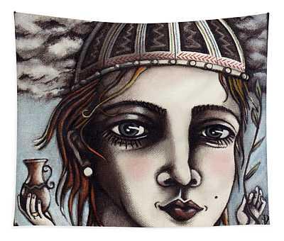 Medieval Herbalist Tapestry
