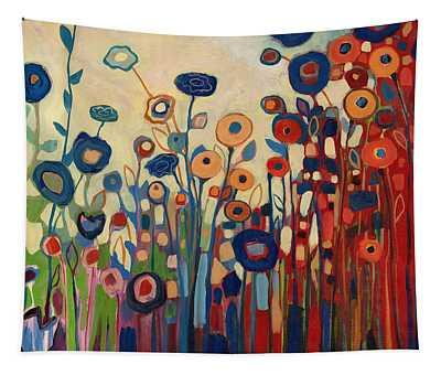 Meet Me In My Garden Dreams Tapestry