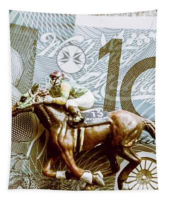 Melbourne Cup Wager Tapestry