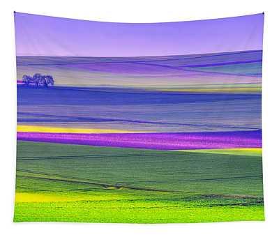 Memories Of Colors Tapestry