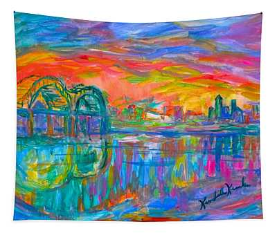 Memphis Spin Tapestry