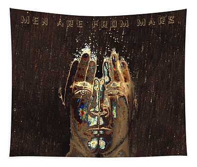 Men Are From Mars Tapestry