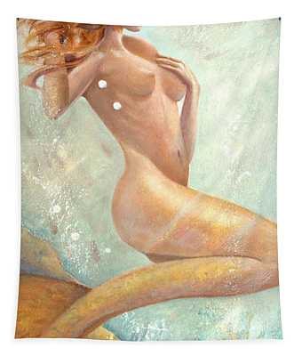Mermaid Dream Tapestry
