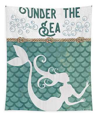Mermaid Tail Wall Tapestries