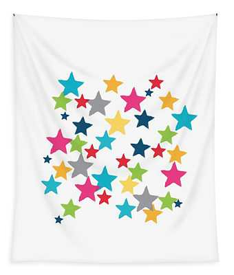 Messy Stars- Shirt Tapestry