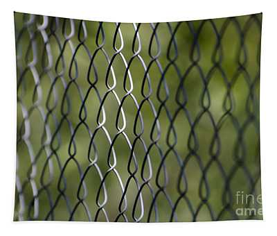 Metal Fence Tapestry