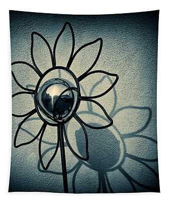 Metal Flower Tapestry
