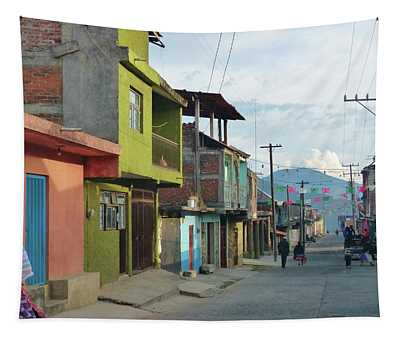 A Town Near Parocho Tapestry