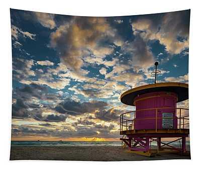 Miami Dawn Tapestry