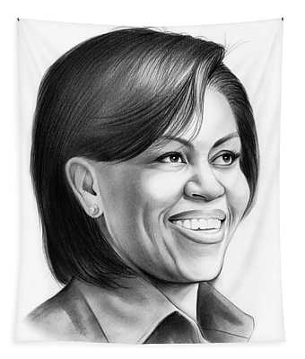 Michelle Obama Tapestry