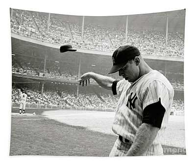Mickey Mantle Tapestry