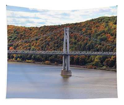 Mid Hudson Bridge In Autumn Tapestry
