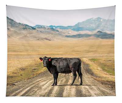 Middle Of The Road Tapestry