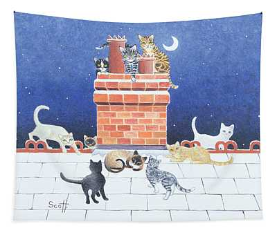 Midnight Madness Tapestry