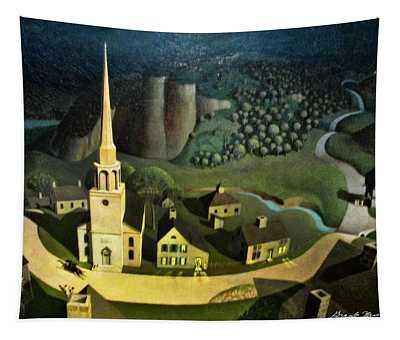 Midnight Ride Of Paul Revere Tapestry