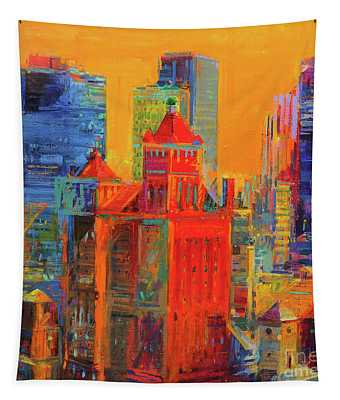 Midtown Manhattan From The Waldorf Tapestry