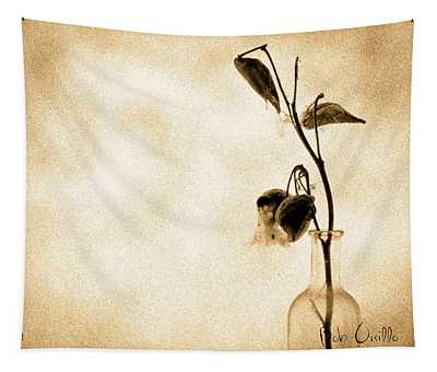 Milk Weed In A Bottle Tapestry