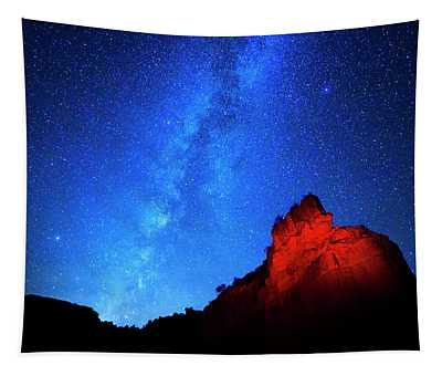 Milky Way And Caprock Tapestry